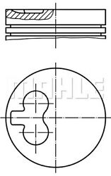 Mahle Piston For