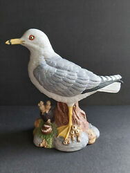 Rare Andrea By Sadek Bird Figurine Seagull Stands 7.5 Tall Mint Condition