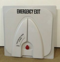 Transpec Safety Vent Ii T1176 Bus Emergency Exit Static Vent Alarm And Osr Handle