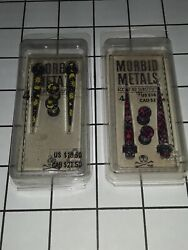 Morbid Metals A Tapers Ear Plugs 4g Sun And Moon / Pink Gauge Earring New