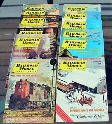 Railroad Model Craftsman 36 Issues 1969 3, 1970 9 71-72 Complete Gd-vg+