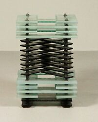 Sidney Hutter Listed Artist Glass Sculpture High Auction Numbers Great Piece