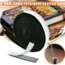 High Heat Barbecue Smoker Gasket Bbq Door Lid Seal Adhesive Stick Multisize C6f1