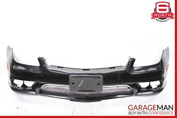 06-08 Mercedes W219 Cls500 Front Bumper Cover Assembly Base Iridium Silver Oem