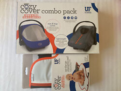 Cozy Cover Uf Combo Pack Carrier And Sun / Bug Cover And Changing Pad