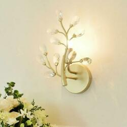 Hallway Antique Crystal Wall Lamp Led Porch Light Nordic Bedroom Wall Lamp