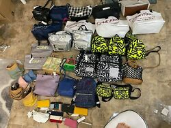 Designer handbag DKNY Calvin Klein lot 27 bags and 7 wallets $950.00
