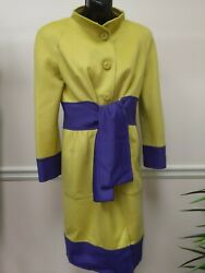 Valentino Belted Coat Size 6