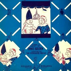 1932 The Wedding Of Punch And Judy Ernie Golden Puppet Shows Vintage Sheet Music