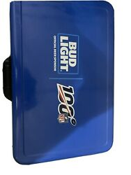 Limited Edition Bud Light Cooler Nfl With Lock