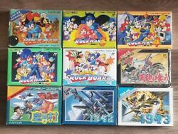 9 Copies Rockman Rock Board Eat The Top Makai Village 1942 1943 Nes Fc Retro