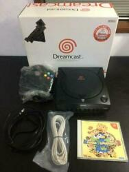 Dreamcast Black Version Limited Console System Rare Item Japan Used