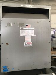 Used Federal Pacific 75kva 3 Phase 480-380/219 Energy Efficient Transformer
