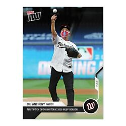 Sold Out Dr. Anthony Fauci - Mlb Topps Now® Card 2 Presale