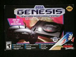 Sega Genesis Mini Video Game Console W/ Games Loaded With Game S