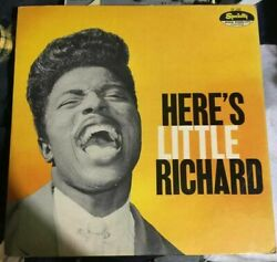 Hereand039s Little Richard 1st Press Specialty Label Mono Lp 1957 Sp-100 Used