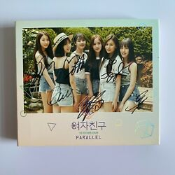 Gfriend And039parallel- Love Versionand039 All Member Hand Signed Album + Choice Of Pc Set