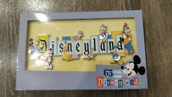 Disneyland Park 65th Anniversary Disneyland Marquee Pin Limited 1500 Ships Now