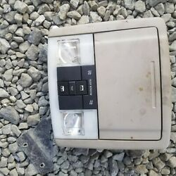 07-08 Ford Expedition Overhead Storage Console Dome Light Sun Roof Switch Oem
