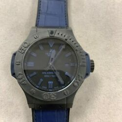 Hublot Big Bang King All Black Mens Watch 322.CI.1190.GR.ABB09 Selling As-Is