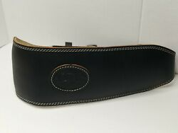 Altus Genuine Leather Padded Weight Power Lifting Belt Size Xl Double Prong 44