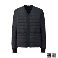 Uniqlo U Jacket Ultra Light Down Compact SMALL Sold-Out + Storage Sack Pouch NWT $125.00