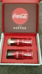 Coca Cola With Coffee - Two 2 12 Oz Cans. Unreleased. Vanilla And Dark Blend