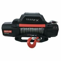 Trailfx Wrs12b Vehicle Mounted Recovery Winch - 12 Volt Electric New