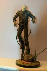 Extremely Rare Friday The 13th Jason Voorhees Under Water Big Figurine Statue