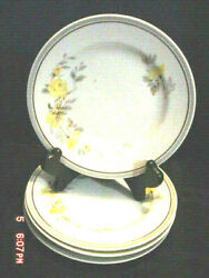 Charles Ahrenfeldt In Ahr12 Pattern Fine China 4 Bread Plates Limoge France
