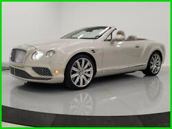 2018 Bentley Continental GT W12 Convertible  2018 Used Certified