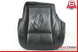 07-09 Mercedes W221 S550 S450 Front Left Driver Lower Bottom Seat Cushion Black