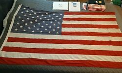 American Flag Flown Over Lambeau Field On May 1st 2001. Packers May Day Flag