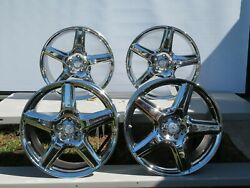 Set Of 4 Factory 2007-13 Mercedes S65 S600 S550 Staggered Amg Wheels Rims Oem