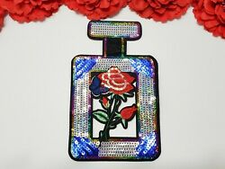Perfume Patch Sequin Patch Rose Patch Flower Patch Iron On