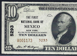 Ny 1929 10 Type-2 ♚♚mexiconew York♚♚ Pcgs Ch About New 58 Ppq Best Known