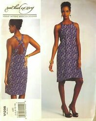 Vogue Sewing Pattern 1298 Rachel Comey Dress Size 4 - 12 New Oop