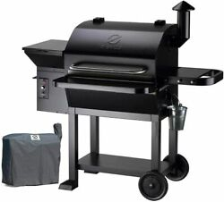Z Grills Wood Pellet Smoker Outdoor Bbq Grill Barbecue Patio Meat Cookers