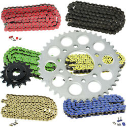 O-ring Drive Chain And Sprockets Kit For Honda Shadow 600 Vt600c Vlx 1989-2007