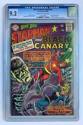 Brave And The Bold 61, Dc Comics, Cgc 9.2, Black Canary