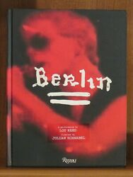 Lou Reed And Julian Schnabel, Berlin, Signed 1st/1st Nf A Performance