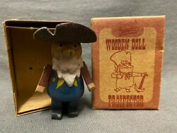 Toy Story Wooden Dolls Young Epoch Woody's Roundup Prospector