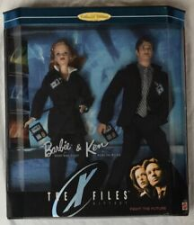 Barbie And Ken The X Files Agent Scully And Agent Mulder Gift Set Item No19630.