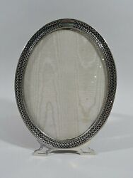 Watson Frame - 2993 - Picture Photo Modern Oval - American Sterling Silver