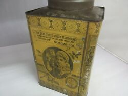 Vintage Coffee Can Advertising Atlantic And Pacific Tea Coffee Tin  361-f