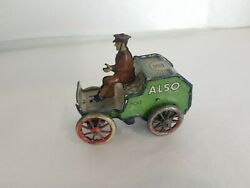 Antique Lehmann No. 700 Also Wind-up Tin Toy As-is