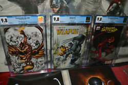 Cgc 9.8 Variant Lot 3 Comics Amazing Spider-man 798 799 And Weapon H1 Hot