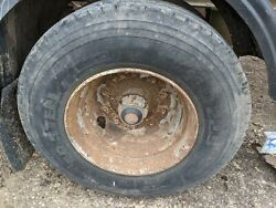 Various 11 R 22.5 Truck Trailer Tyres Pumped Up And On 10 Stud Rims