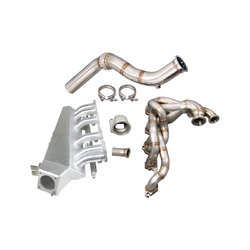 Cxracing Exhaust Intake Manifold Fuelrail Downpipe Kit For 280z Fairlady Z L28e