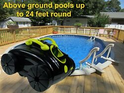 Waterjet Pool Cleaner For Above Ground Or Other Flat Bottom Pools 40ft Cord